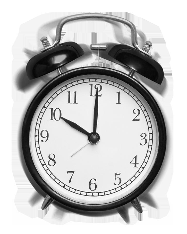 despertador vintage en movimiento por que cronolegal
